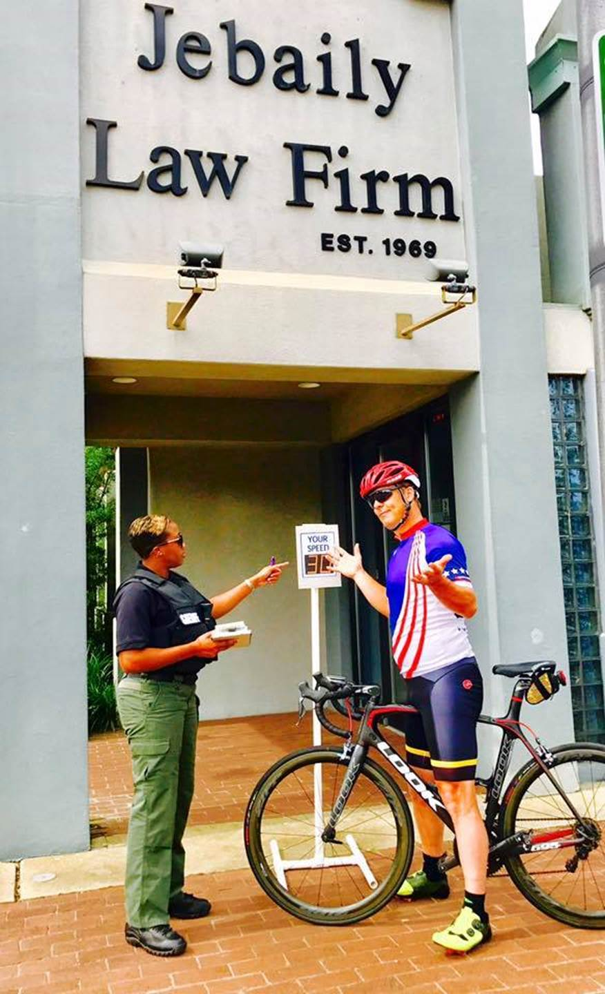 Jebaily Law Firm Sponsored the DownTownRoll and Cycling Festival