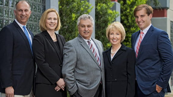 Jebaily Law Firm team photo